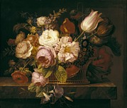 Still Life Of Flowers Art - Lacoma, Francisco 1784-1849. Still Life by Everett
