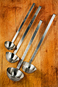 Kithcen Prints - Ladles Print by Bill  Wakeley