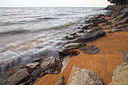 Jeff Holbrook Art - Lake Huron Shore by Jeff Holbrook