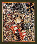 Coat Of Arms Digital Art - Lamoral Count of Egmont Medieval Coat of Arms by Serge Averbukh