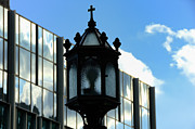 College Avenue Photos - Lamp Post Pittsburgh by Thomas R Fletcher