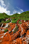 Fototrav Print - Landscape Jinguashi Golden Waterfall