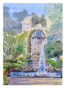 Most Painting Originals - Landscaped Gardens by Godwin Cassar