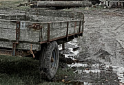 Old Wagon Photos - Last Resort by Odd Jeppesen