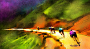 Le Tour De France 02 Print by Miki De Goodaboom