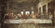 Last Supper Photo Posters - Leonardo Da Vinci 1452-1519. The Last Poster by Everett