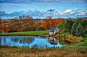 Rural Scenes Digital Art - Lets Go Fishing by Jeff S PhotoArt