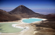 James Brunker - Licancabur volcano and Laguna Verde