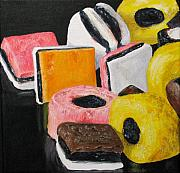 Licorice Painting Prints - Licorice Candy Print by Nancie Johnson