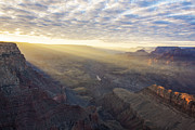 Cloud Photos - Lipon Point Sunset - Grand Canyon National Park - Arizona by Brian Harig