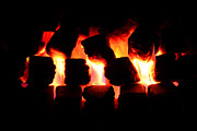 Simon Bratt Photography - Lit Coal Fire
