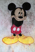 Disney Pastels Posters - Little Yellow Shoes Poster by Thomas Luca