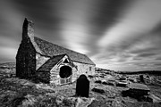Churches Prints - Llangelynnin Church Print by David Bowman