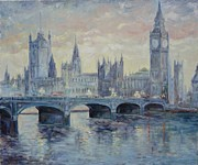 Big Ben Originals - London Westminster Bridge by Irek Szelag