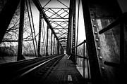 Jahred Allen Photography Posters - Lonely Bridge Poster by Jahred Klahre
