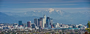 David  Zanzinger - Los Angeles CA Skyline Panorama