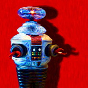 Wingsdomain Art and Photography - Lost In Space Robot - 20130117 - square