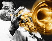 Louis Originals - Louis Armstrong by Tony Rubino