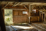 Straps Framed Prints - Lower Level of the Barn Framed Print by Geoffrey Coelho
