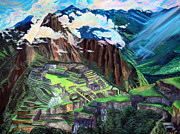 Building Digital Art Originals - Machu Picchu by Sarah Tiffany King