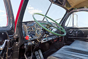 Side Panel Prints - Mack B61 Interior Print by Rudy Umans