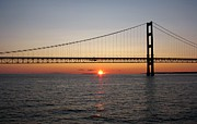 Keith Stokes - Mackinac Bridge Sunset