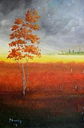 Pasture Scenes Originals - Magical field by Alicia Maury