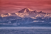 Inversion Posters - Majestic Mt Baker Poster by Eti Reid