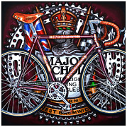 Chrome Painting Prints - Major Nichols Print by Mark Howard Jones