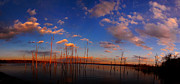 Raymond Salani III - Manasquan Reservoir With Sunset Glow