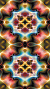 Contemplation Prints - Mandala 77 for iPhone Double Print by Terry Reynoldson
