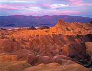 Manley Photo Prints - Manley Beacon from Zabriskie Point Print by Mike Norton