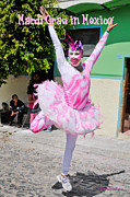Tutus Photos - Mardi Gras in Mexico by David Perry Lawrence