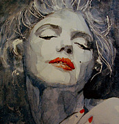 Marilyn No8 Print by Paul Lovering