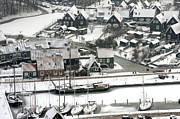 North Holland Prints - Marken In Winter, Noord-holland Print by Bram van de Biezen