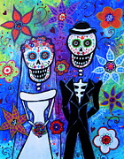 Pristine Cartera Turkus - Married Couple Dia De Los Muertos