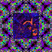 Wingsdomain Art and Photography - Marti Gras Carnival Mask In Jester...