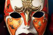 Interior Still Life Metal Prints - Mask Metal Print by John Rizzuto