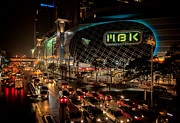 Vehicle Digital Art - MBK Bangkok  by Adrian Evans
