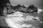 Big Sur Beach Framed Prints - McWay Falls Framed Print by TB Sojka