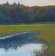 Cape Cod Pastels Originals - Meditate by Ed Chesnovitch