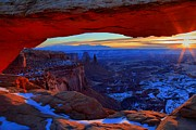 Adam Jewell - Mesa Arch Sunburst