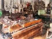Ladles Photos - Metal Machine Shop by Susan Savad