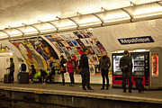 Art Ferrier Art - Metro Republique by Art Ferrier