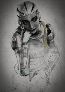 Frame Digital Art - Metropolis by Bob Orsillo