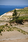 Pure Michigan Posters - Michigan Sleeping Bear Dunes Poster by Christina Rollo