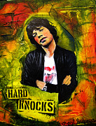 Mick Mixed Media - Mick Jagger by Cheryl Andrews