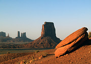 Jeff Brunton Metal Prints - Monument Valley Afternoon Metal Print by Jeff Brunton