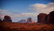 National Parks Pyrography - Monument Valley Butte by John Ferebee