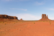 Tribal Prints - Monument Valley Navajo Tribal Park Print by Christine Till